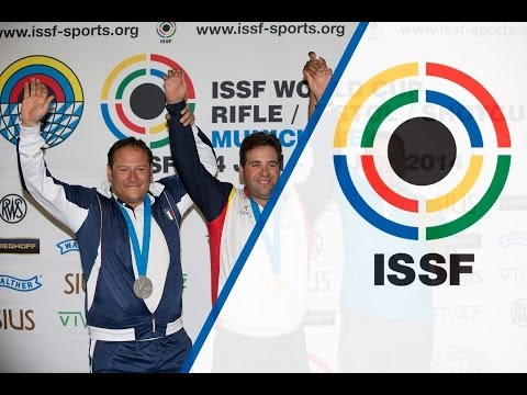 Trap Men Final - ISSF World Cup in all events 2014, Munich (GER)