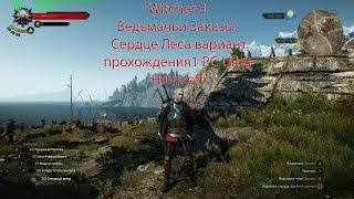 Witcher 3 Ведьмачьи Заказы: Сердце Леса вариант прохождения1 PC Ultra Hairs/off
