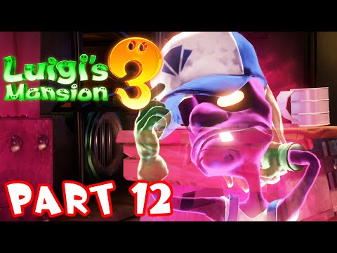 Luigi's Mansion 3 - Part 12 - Boiler Works! Gameplay Walkthrough