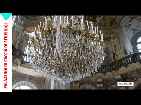 Palazzina di caccia of Stupinigi - 4K video - Part I - Blulight Ambassador of Art (Italia)