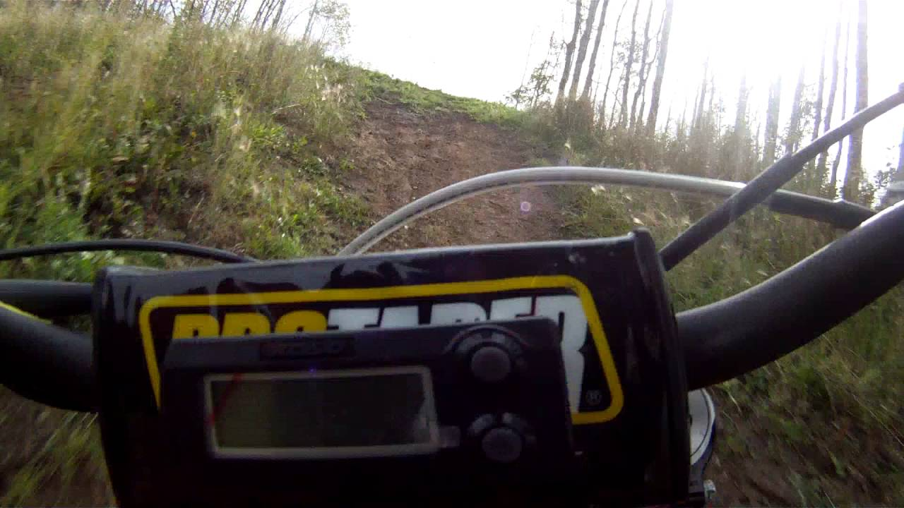 hill climb jump ktm 150sx - youtube