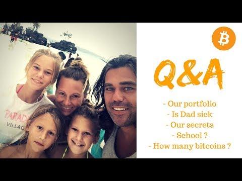 Q&A The Bitcoin Family Tells Their Secret And Their Portfolio! | Vlog #010