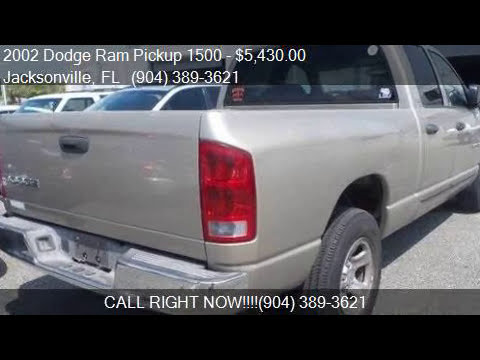 2002 Dodge Ram Pickup 1500 ST for sale in Jacksonville, FL 3