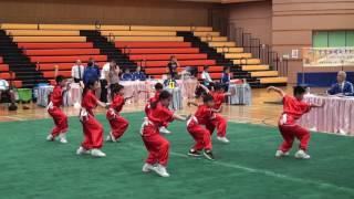 佛教林炳炎紀念學校~學校小學組五步拳B隊第六名 (2017全