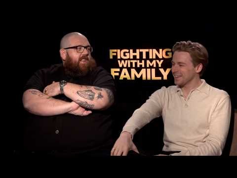 Nick Frost & Jack Lowden Interview - Fighting With My Family