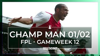 CHAMP MAN FPL | GAMEWEEK 12 PREVIEW | HENRY MISERY