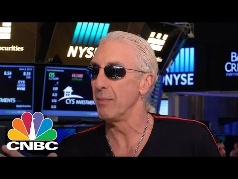 Twisted Sister's Dee Snider Visits The NYSE, Talks Donald Trump | CNBC