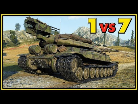 Object 705A - 1 vs 7 - World of Tanks Gameplay