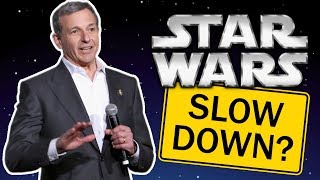 Bob Iger Says Star Wars is Slowing Down?