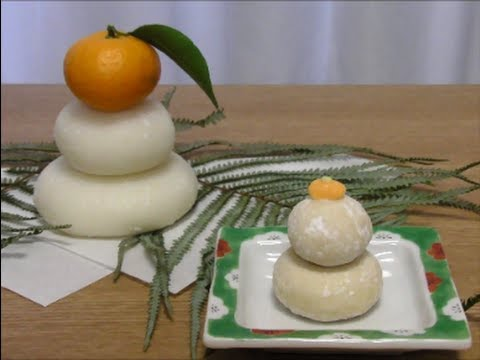 kagami mochi how to eat