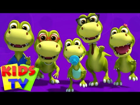 Dinosaurs Finger Family | Dino Song | Nursery Rhymes | Kids Songs | Baby Rhymes | Kids Tv
