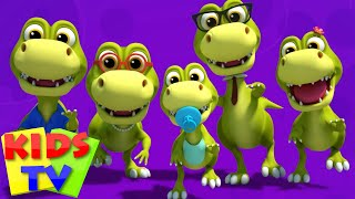 Dinosaurs Finger Family | Dino Song | Nursery Rhymes | Kids Songs | Baby Rhymes