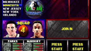 NBA Hangtime N64 Rosters (Squads 1-4 only)