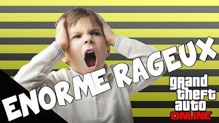 Des énormes kikoo de 12 ans qui rage sur GTA online !