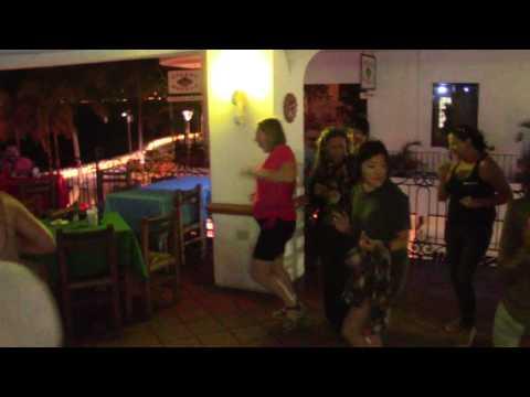 Late-Night Dancing At Bar Oceano Restaurant On The Malecon, Puerto Vallarta, Mexico (January 2017)