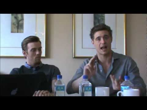 Max Irons and Jake Abel  'The Host' Press Junket