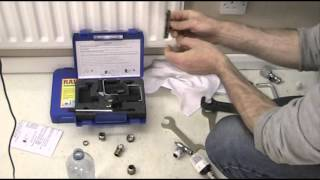 "How to drain a central Heating system that has no Drain off point 3/4""."