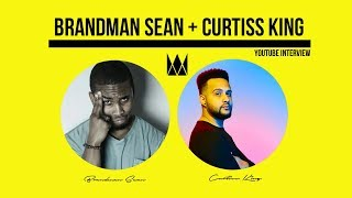 Brandman Sean x Curtiss King Talk Music Marketing (YouTube Interview)
