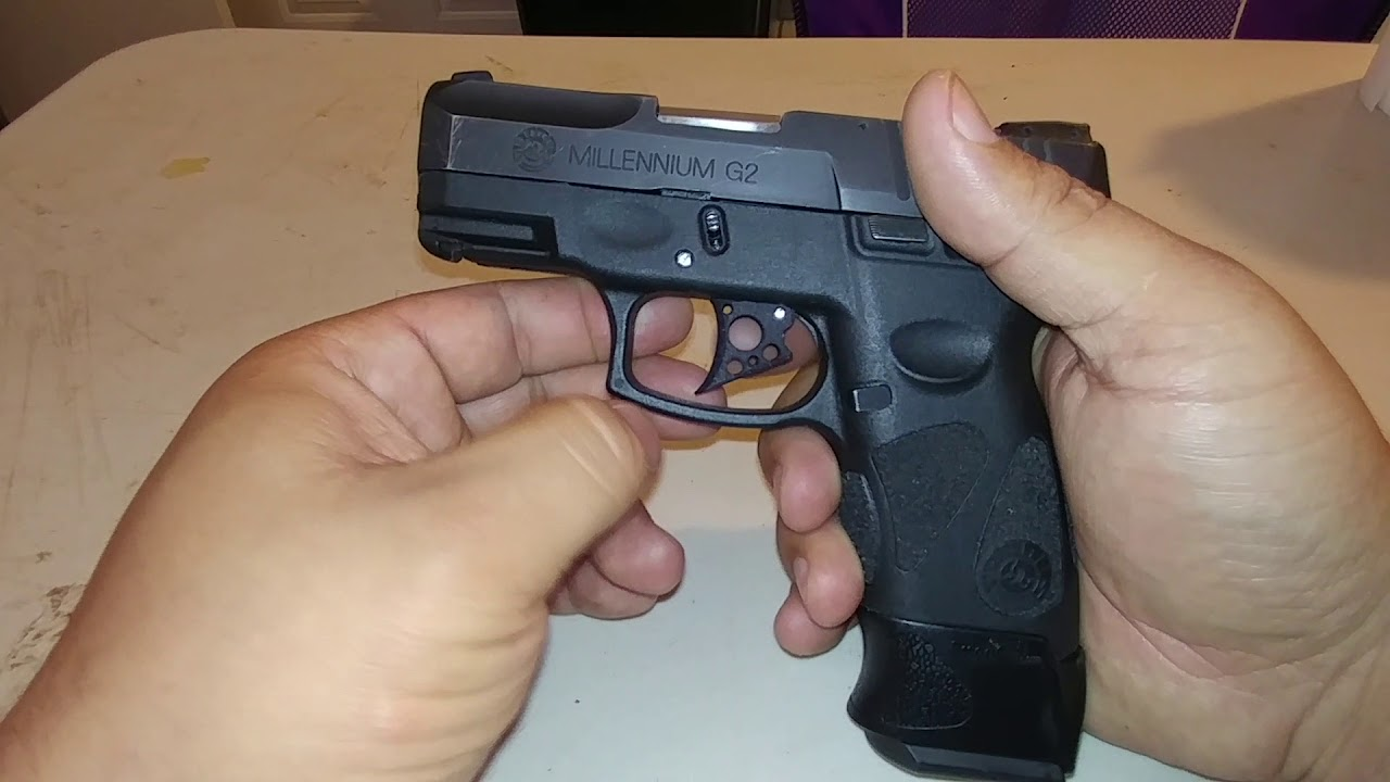 New G2 Pseudo Backstrap Trigger - Taurus Gun Forum