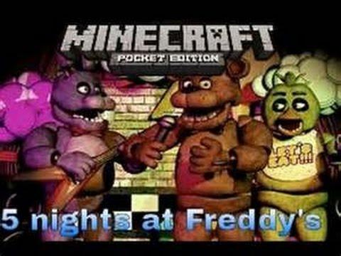 fnaf 2 mod minecraft pe download