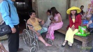Người phụ nữ bị chồng bỏ rơi khi bị tai nạn cụt chân