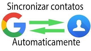 Como salvar/recuperar/Transferir contatos automaticamente Através da conta da Google - Android