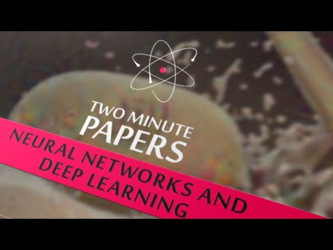 Artificial Neural Networks and Deep Learning | Two Minute Papers #3