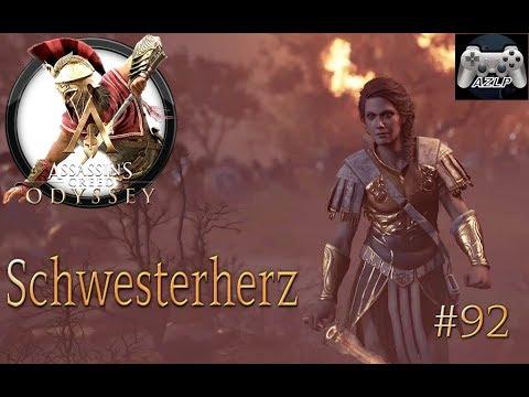 ASSASSINS CREED ODYSSEY #92 - SCHWESTERHERZ | Assassins Creed Odyssey deutsch thumbnail