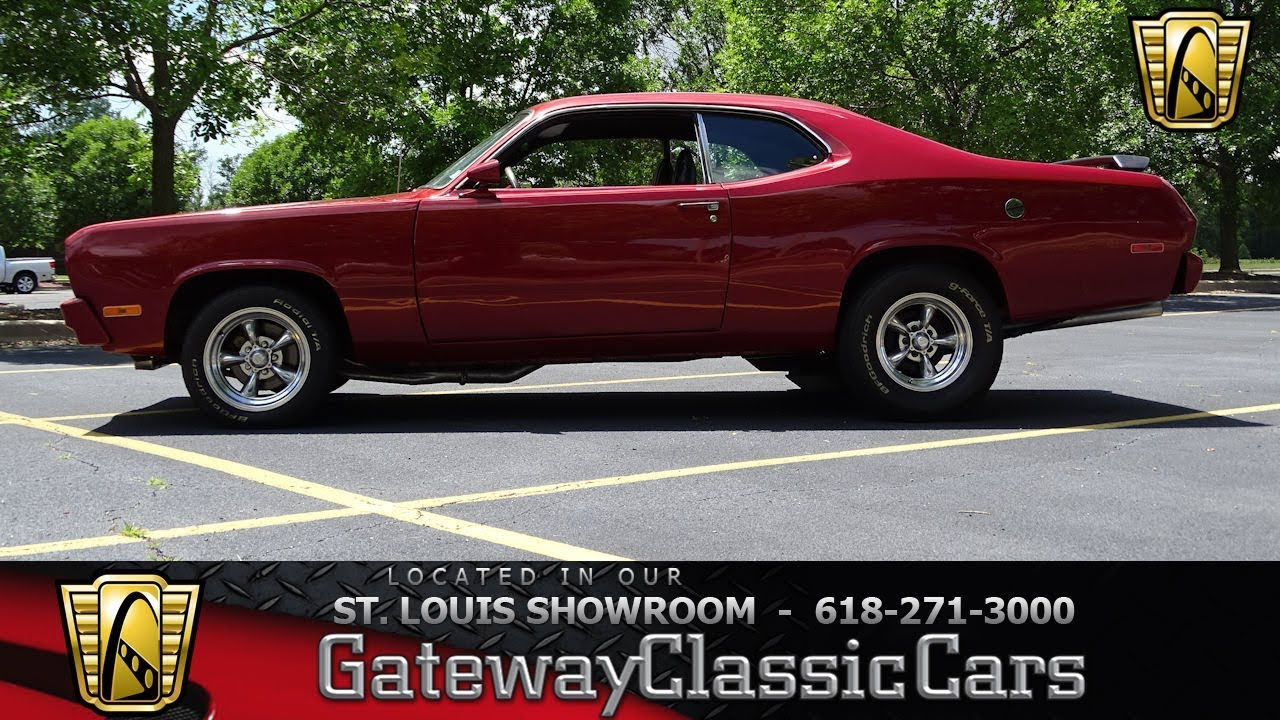 medium resolution of 1974 plymouth duster 7348 for sale at gateway classic cars stl
