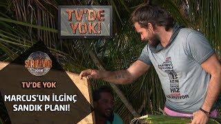 Survivor 2018 | TV'de Yok |  Marcus'un ilginç sandık planı!