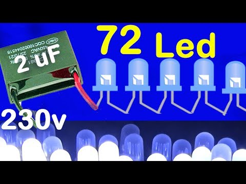 how to make the lights at home, 5 watt led bulb diagram without transformer  alf