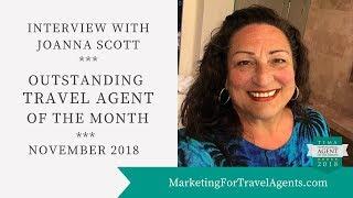 Joanna Scott *Outstanding Travel Agent of the Month* November 2018