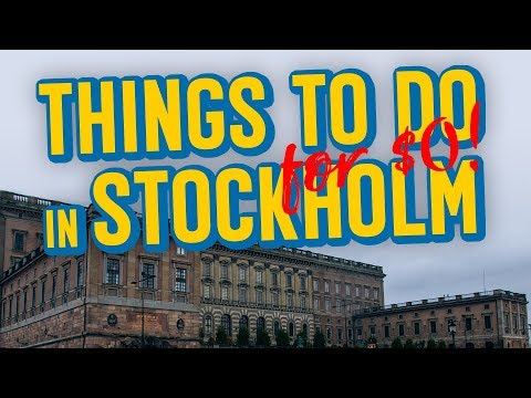 TONS OF FREE THINGS TO DO IN STOCKHOLM
