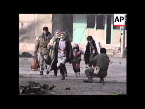 RUSSIA: CHECHNYA: BATTLE FOR GROZNY CONTINUES