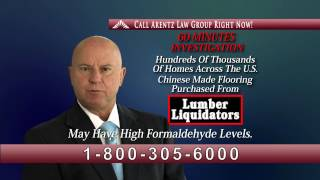 Lumber Liquidators Commercial Spot - Arentz Law Group