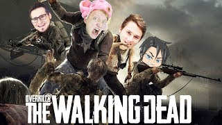 НЕ БОЙСЯ ХОДЯЧИХ МЕРТВЕЦОВ! ОТБИВАЕМ ОГРОМНОЕ НАПАДЕНИЕ ЗОМБИ В Overkill's The Walking Dead