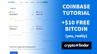 How to buy Bitcoin – Coinbase Tutorial