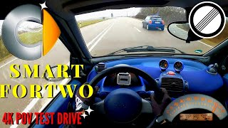 POV Test Drive - Smart Fortwo Acceleration & Top Speed