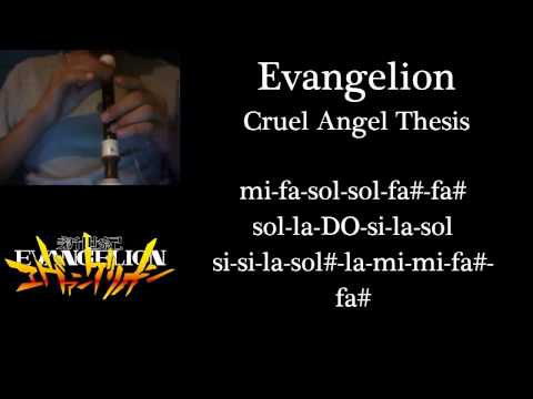 Neon Genesis Evangelion Opening   Cruel Angel s Thesis  Guitar Cover by  Eddie van der Meer
