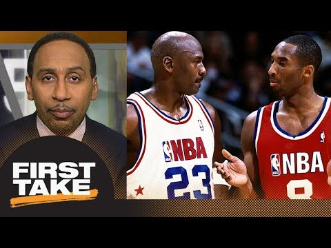 Stephen A. Smith has a message for America about Kobe Bryant and Michael Jordan   First Take   ESPN