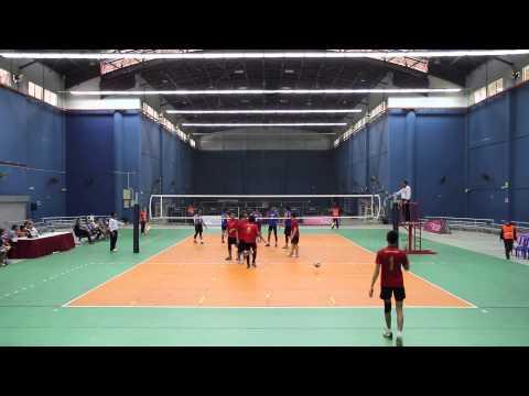 UTM International Invitational Volleyball Championship 2013 - Bomba Malaysia vs United Force VC