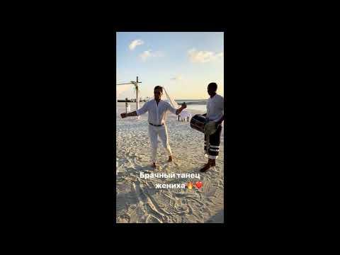 Александр Ревва танцует на своей четвертой свадьбе