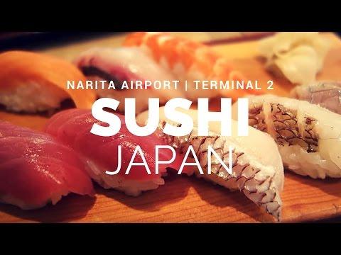 What to eat at Narita International Airport (NRT), Japan? - SUSHI