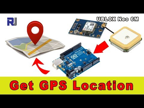 Extract GPS location in Arduino with NEO-6m module