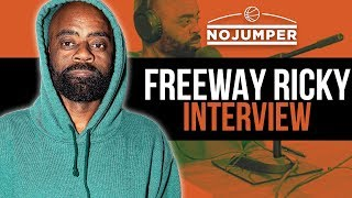 Freeway Ricky on doing 20 Years for selling coke & Rick Ross stealing the Name