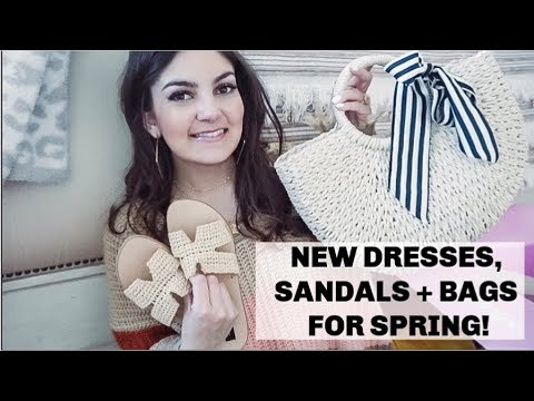SPRING FASHION HAUL   SHOPPING FOR VACATION   MATERNITY STYLE!