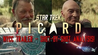 Star Trek: Picard NYCC Trailer - Shot-by-Shot Analysis & Breakdown!