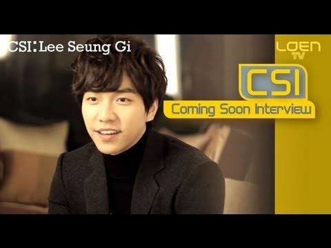 CSI: Lee Seung Gi(이승기)_Return(되돌리다) [ENG SUB]