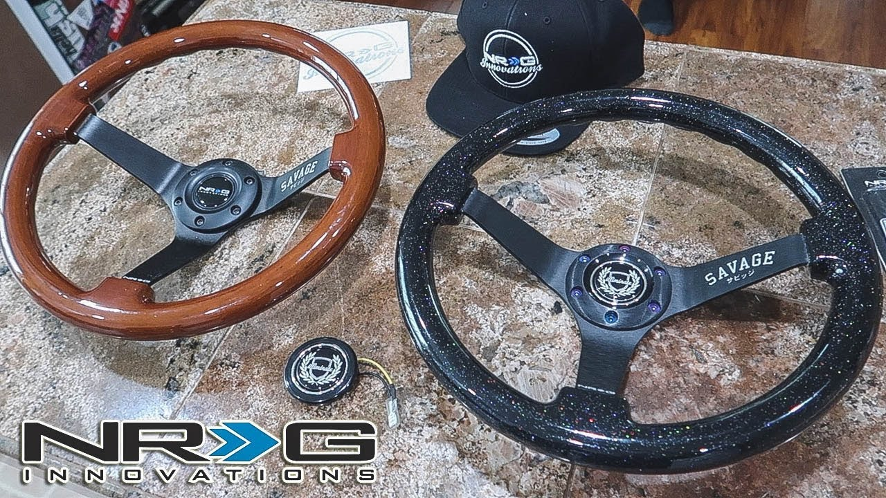 Nrg X Illiminate Savage Steering Wheels