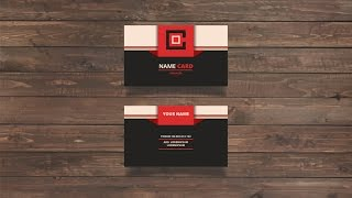 illustrator for beginner - Make a Name Card business